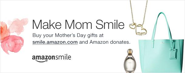 Amazon Smile.Mother's Day ClipArt