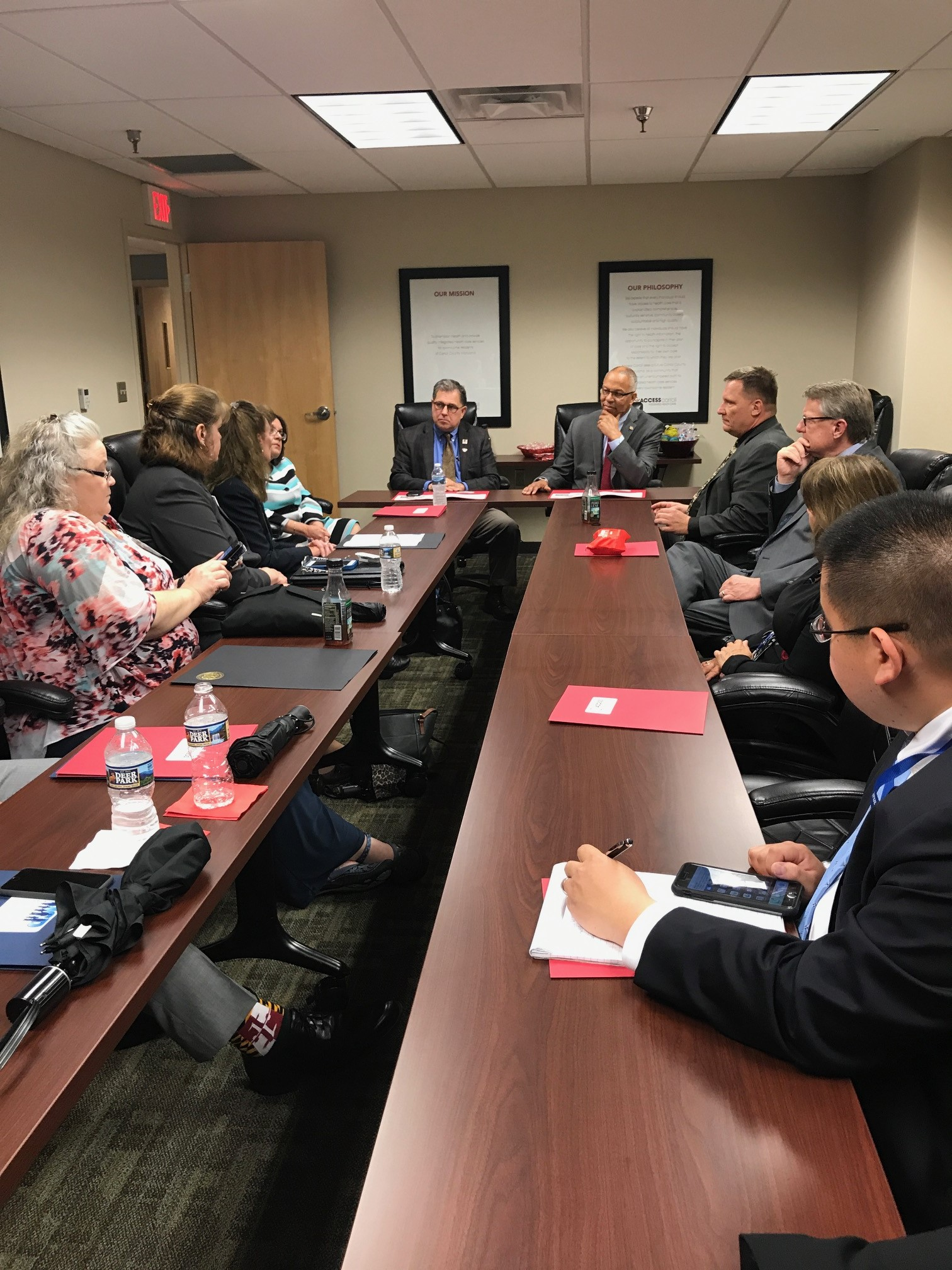State Leadership Visits Access Carroll - Access Carroll